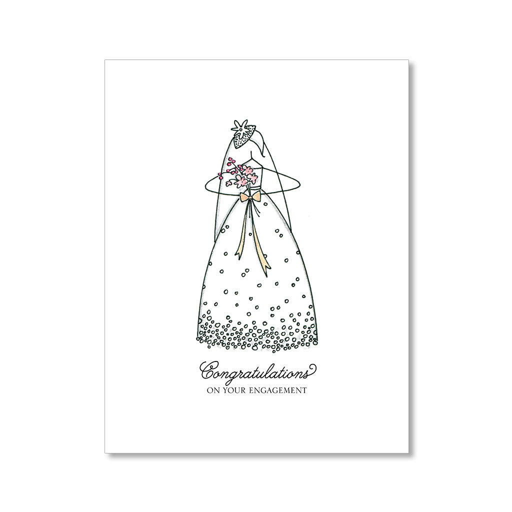 """BRIDE TO BE"" CONGRATULATIONS CARD"