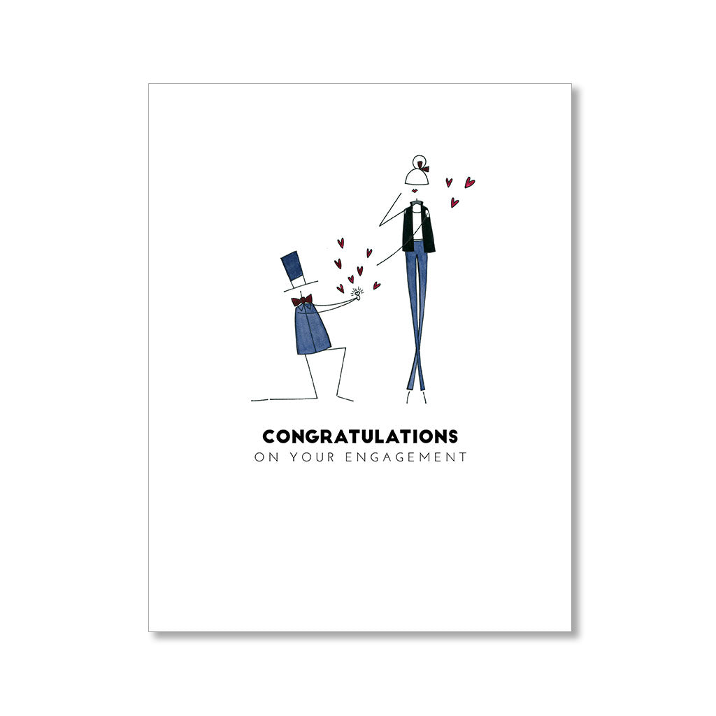 """THE PROPOSAL"" CONGRATULATIONS CARD"