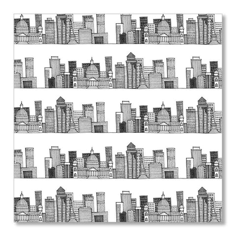 """SKYLINE"" WRAPPING PAPER"