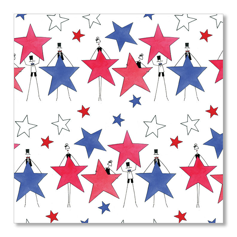 """STARS"" WRAPPING PAPER"