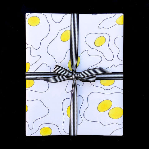 """FRIED EGG"" WRAPPING PAPER"