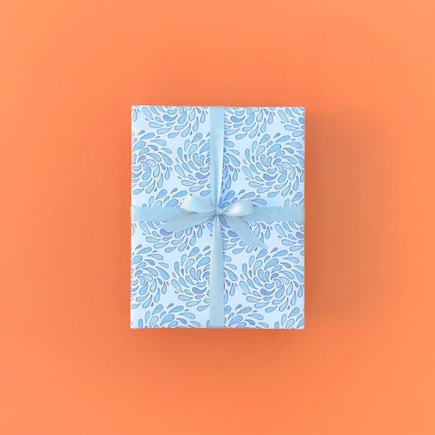 """WATERWORKS"" WRAPPING PAPER"