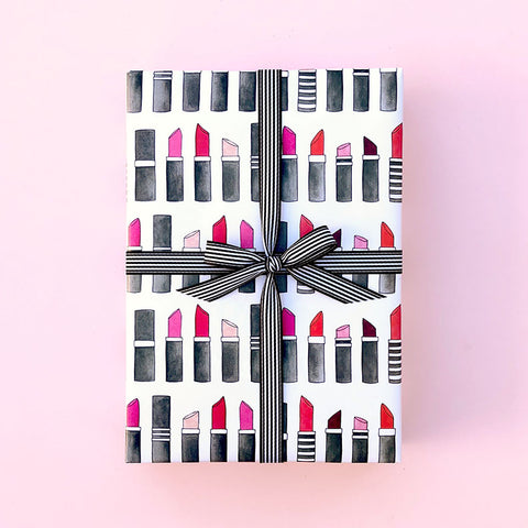 """LIPSTICK"" WRAPPING PAPER"