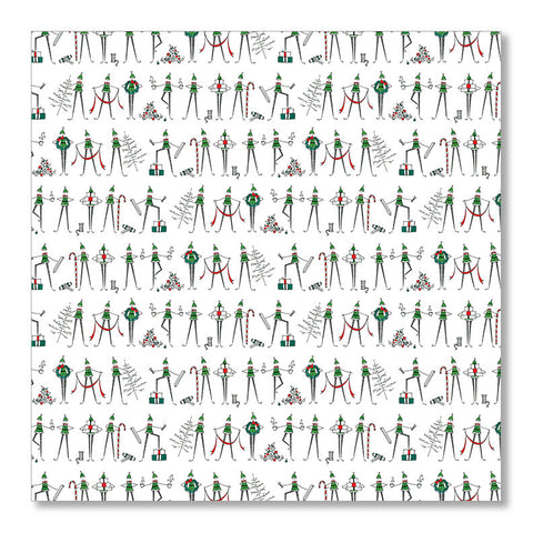 """THE ELVES"" WRAPPING PAPER"