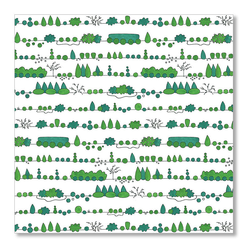 """LANDSCAPING"" WRAPPING PAPER"