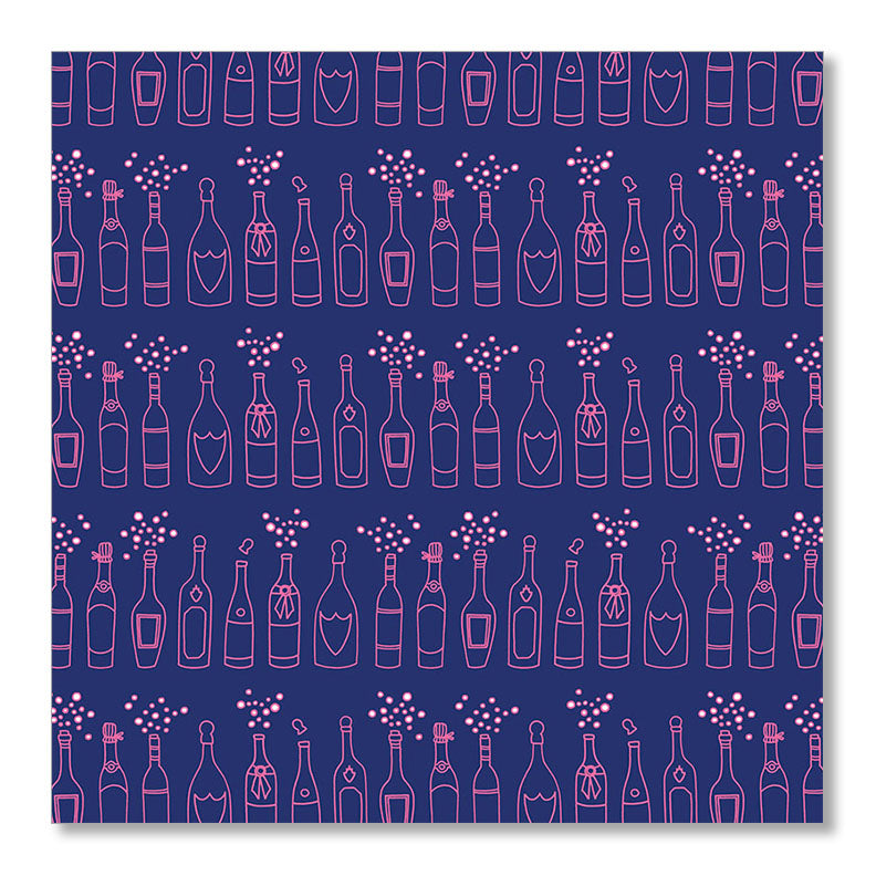 """CHAMPAGNE"" WRAPPING PAPER"