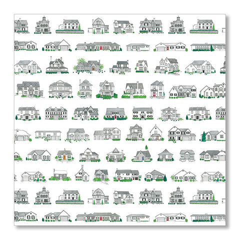 """A PLACE TO CALL HOME"" WRAPPING PAPER"