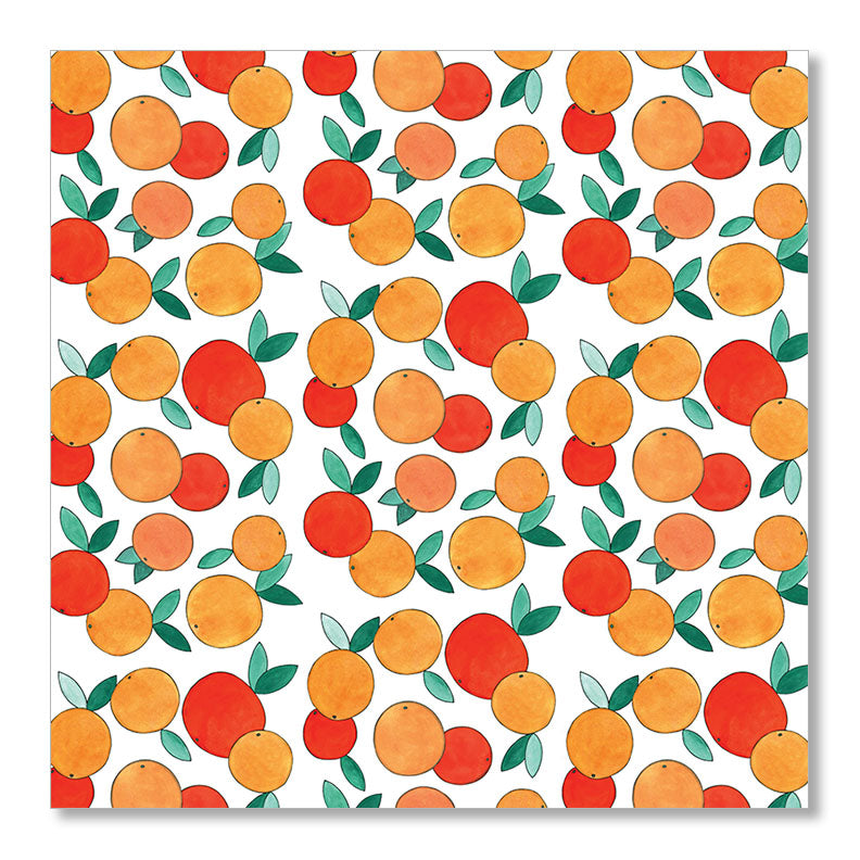 """ORANGES"" WRAPPING PAPER"