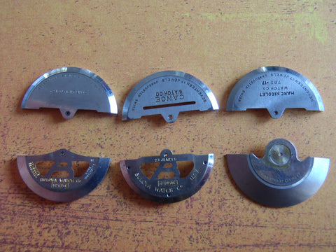Vintage Watch parts Balance Weights - Steampunk - Scrapbooking T28