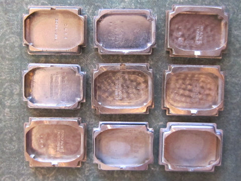 Vintage Antique Watch parts cases backs -  R45