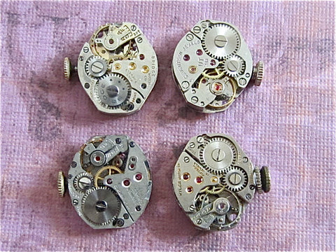 Vintage Antique Watch movements - Watch parts - s94