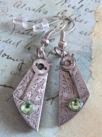 Steampunk Earrings - Archaic - Steampunk Jewelry