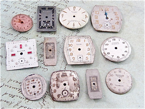 Vintage Antique Watch  Assortment Faces -  g21