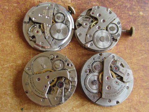 Watch movements - Vintage Antique Watch movements - x84