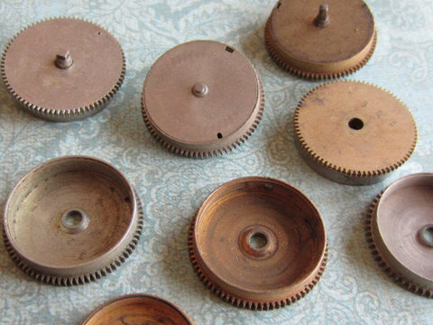 Vintage Antique Watch movements parts - a6