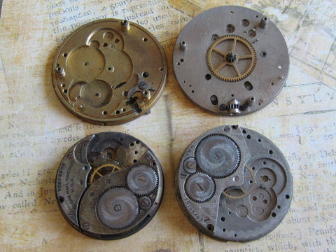 Watch movements - Vintage Antique Watch movements Steampunk - p63
