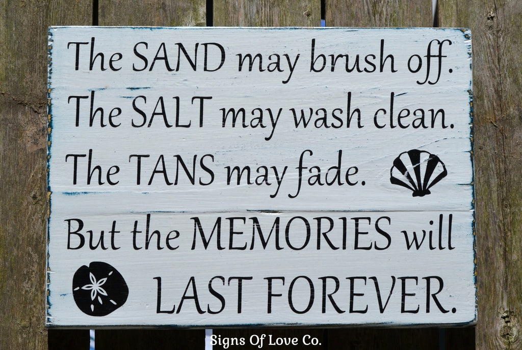 The Sand May Brush Off