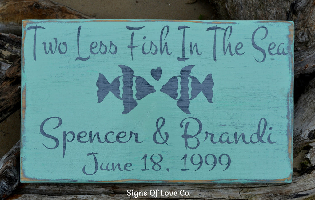 Personalized Beach Wedding Gift Beach Wedding Sign Lake Decor Ideas