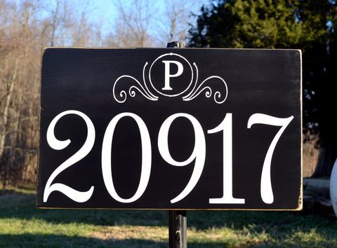 Custom Address Monogram Number Plaques Address Number Sign Board Outdoor House Numbers Signs Monogram Initial Personalized Family Signs