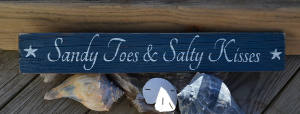 Sandy Toes & Salty Kisses - The Sign Shoppe - 2