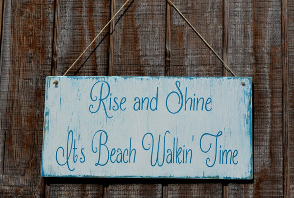 Beach Decor, Beach Sign, Beach Wood Sign, Coastal Decor, Nautical,  Beach Theme, Hanging Sign, Rustic - The Sign Shoppe - 1