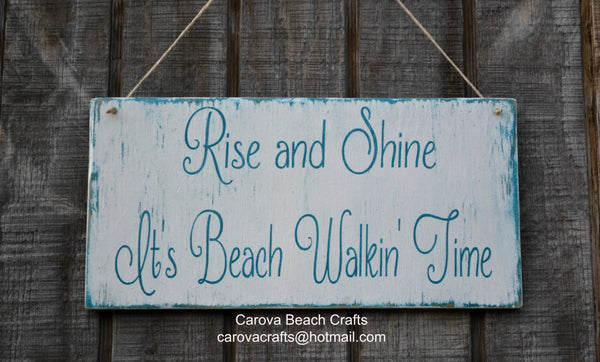 Beach Decor, Beach Sign, Beach Wood Sign, Coastal Decor, Nautical,  Beach Theme, Hanging Sign, Rustic - The Sign Shoppe - 2