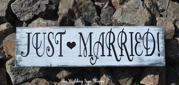 Wedding Decor Wedding Signs Just Married Signage Just Hitched Eloped Rustic Wedding Ideas Bride Groom Honeymoon Announcement Photo Prop Sign