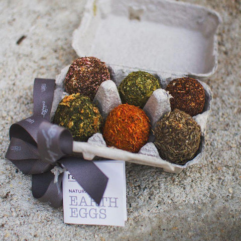 box set of 6 earth eggs
