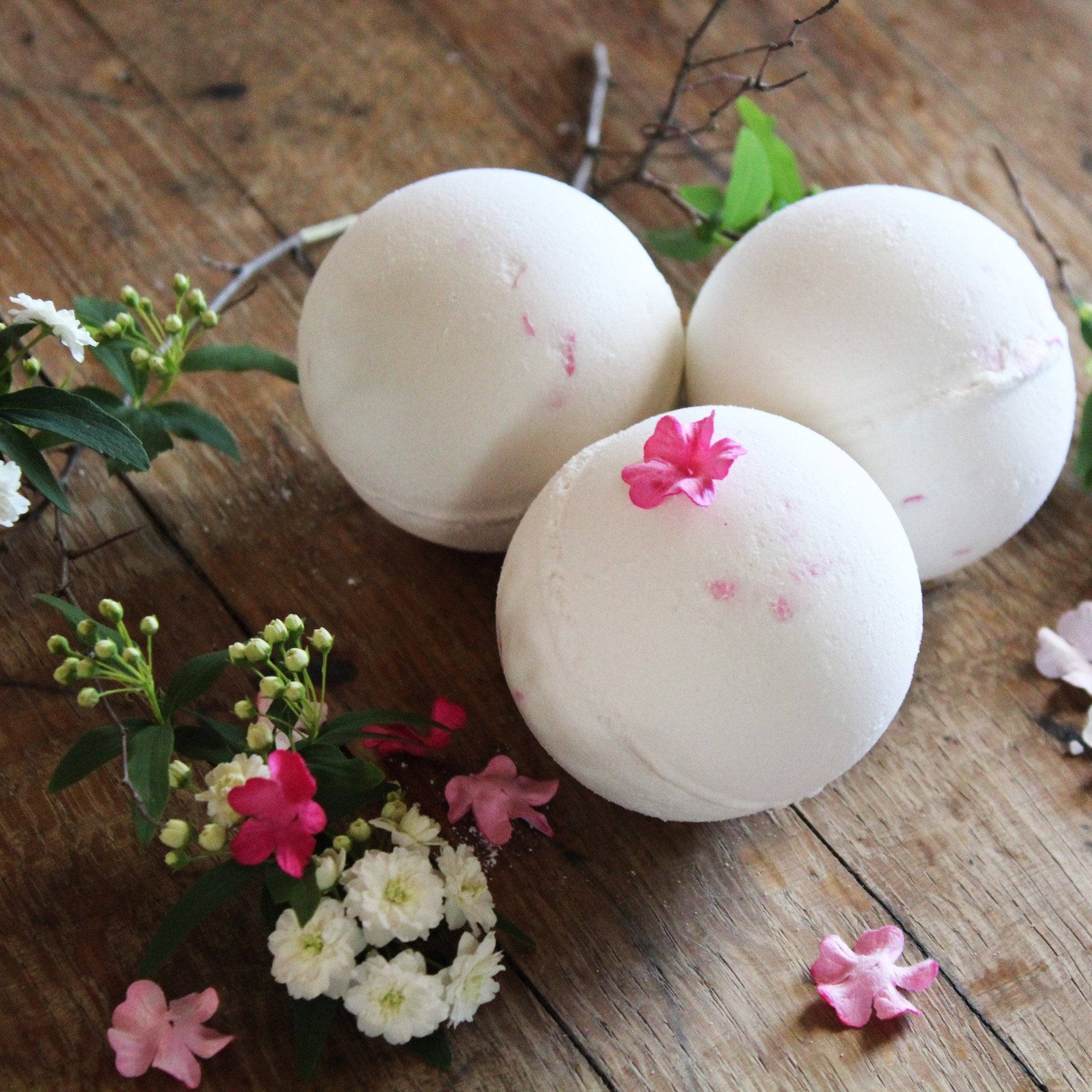 bath bomb waterlily