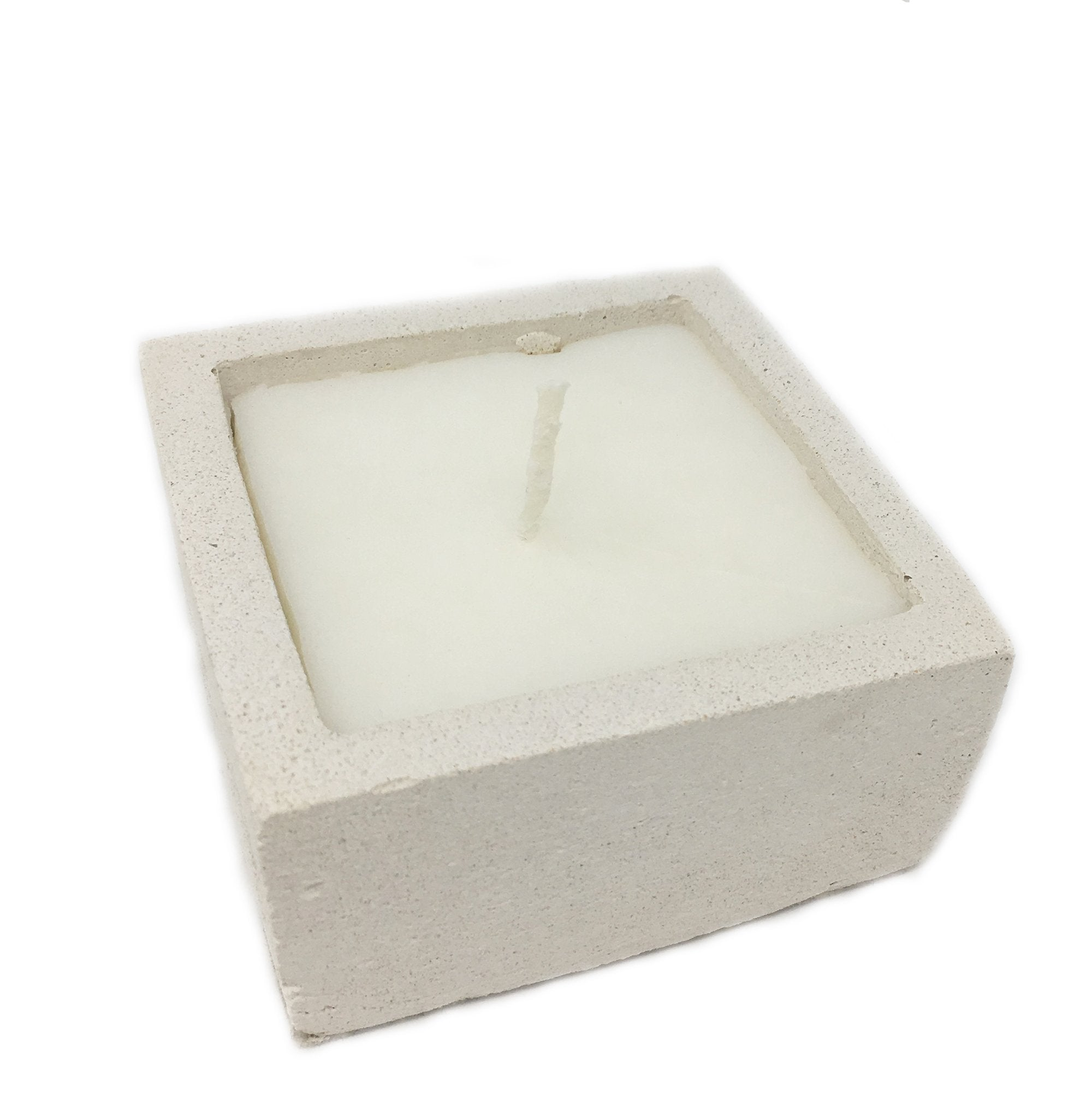 candle square ivory