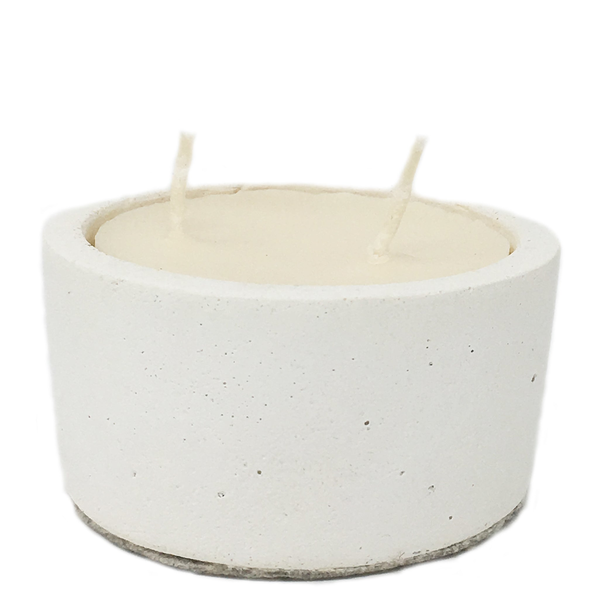 candle in reusable bowl
