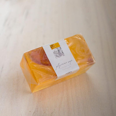 soap - glycerin wedge mandarin & kumquat