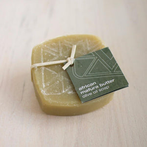 olive oil soap - wild gum