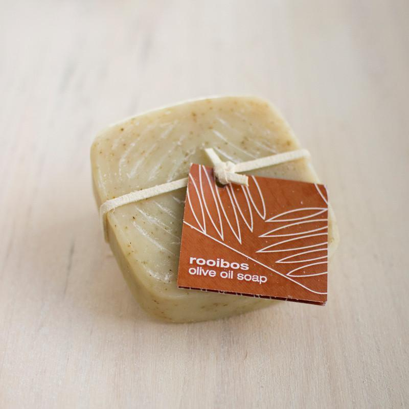 olive oil soap - rooibos
