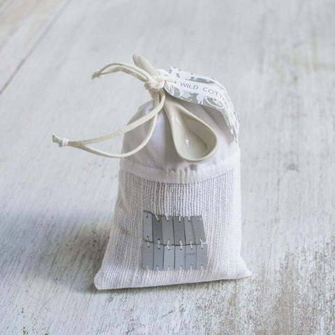 wild cotton bath salts in bag