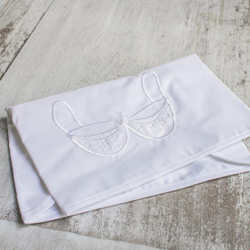 lingerie bag white