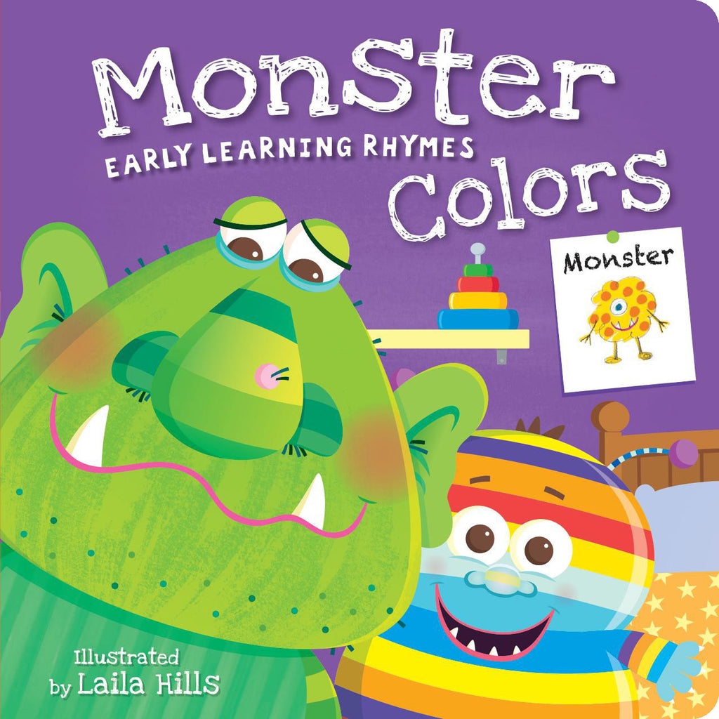 Early Learning Rhymes: Monster Colors