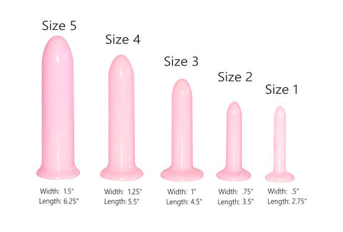 Directions Amp Sizes How To Use Vaginal Dilators Vuva