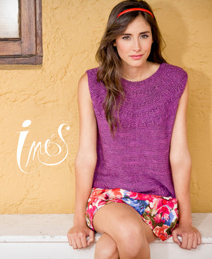 Ines Sleeveless Top by Manos Design Team