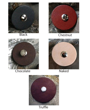 JUL Leather Screw-in Pedestal Buttons