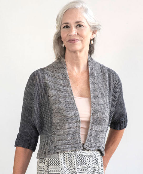 Cropped Cardi by Amy Christoffers
