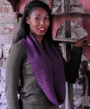 Textured Cowl by The Fibre Co. Design Team