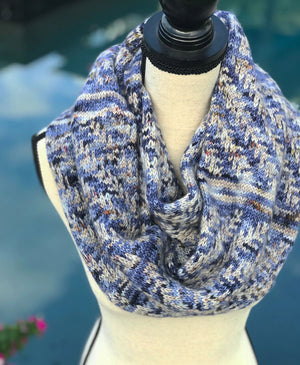Pine Bough Cowl by Dianna Walla