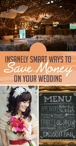 Tips for Saving money on a wedding