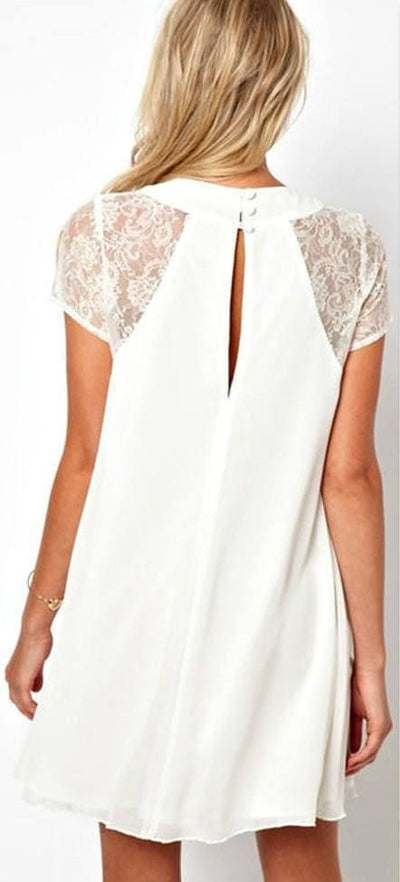A Touch of Lace Dress - Dress