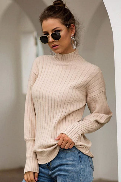 Antonina Sweater Top - Small / Ecru - sweater