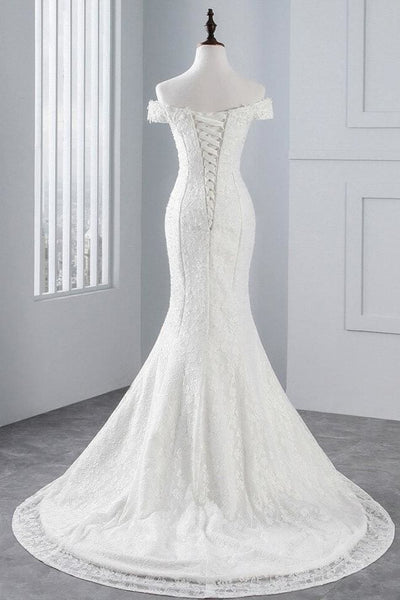 Avila Lace Wedding Dress - Wedding Dress