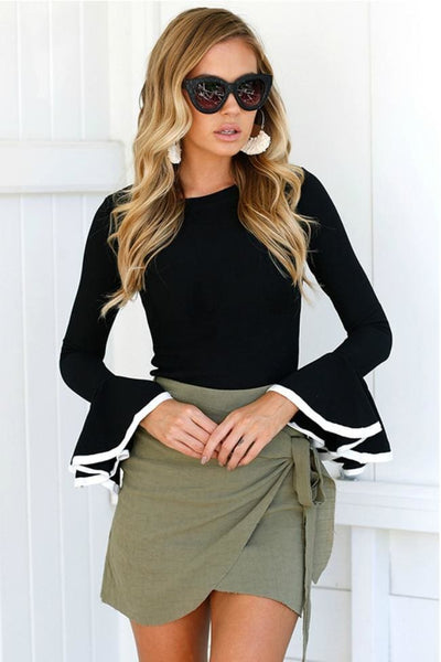 Bella Vita Belle Sleeve Top - Tops