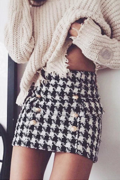 Coco Tweed Skirt - Skirt