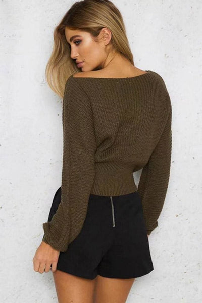 Darby Knit Top - sweater
